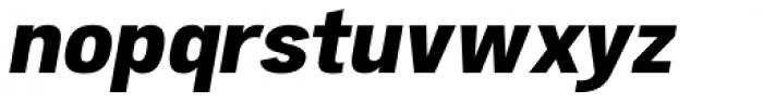 Atiga Extra Bold Italic Font LOWERCASE