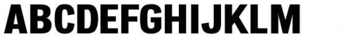 Atiga Extra Bold Font UPPERCASE