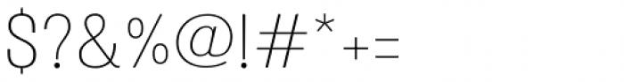 Atiga Light Font OTHER CHARS