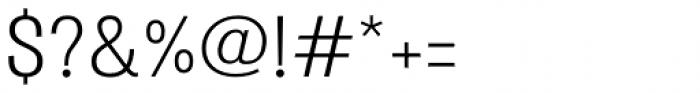 Atiga Regular Font OTHER CHARS