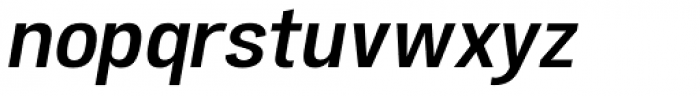 Atiga Semi Bold Italic Font LOWERCASE