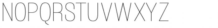 Atiga Thin Font UPPERCASE