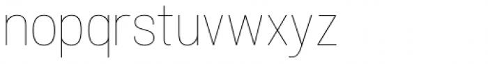Atiga Thin Font LOWERCASE
