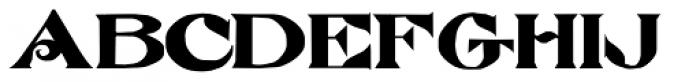 Atkinson Eccentric Font UPPERCASE