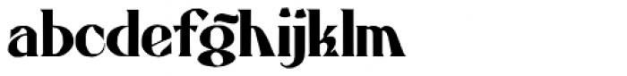 Atkinson Eccentric Font LOWERCASE