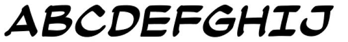 Atland BB Bold Italic Font LOWERCASE