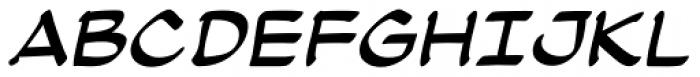 Atland BB Italic Font UPPERCASE