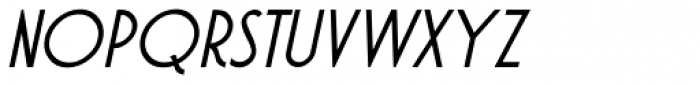 Atlantic Cruise Italic Font UPPERCASE