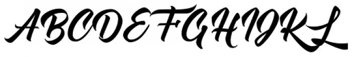 Atlantica Display Font UPPERCASE