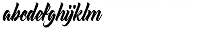 Atlantica Display Font LOWERCASE