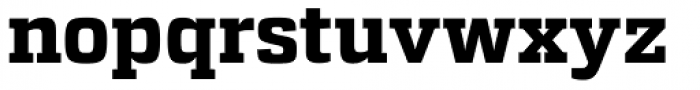 Atletico Bold Font LOWERCASE