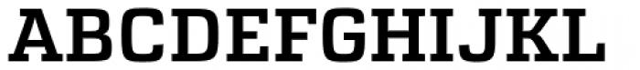 Atletico Medium Font UPPERCASE