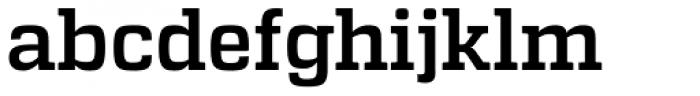 Atletico Medium Font LOWERCASE