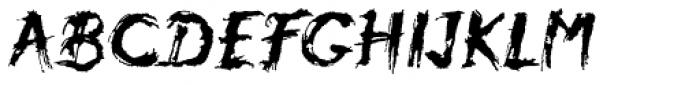 Atmosphere Std Font UPPERCASE