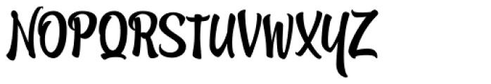 Atocha Caps Font UPPERCASE