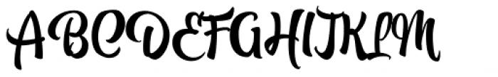 Atocha Font UPPERCASE