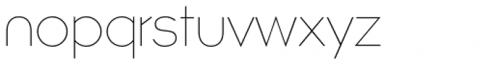 Atomic Alice Thin Font LOWERCASE