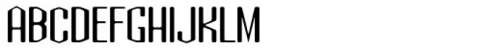 Atomic Sans ICG Font UPPERCASE
