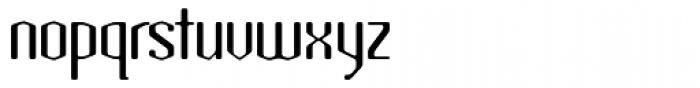 Atomic Sans ICG Font LOWERCASE