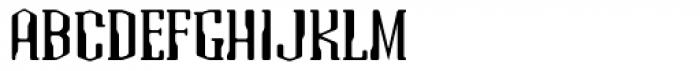 Atomic Serif ICG Font UPPERCASE