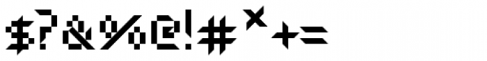 Atoxina Font OTHER CHARS
