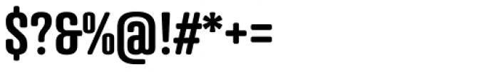 Atrament SemiBold Font OTHER CHARS