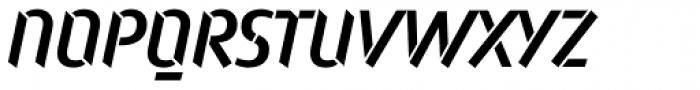 Attack Medium Font UPPERCASE