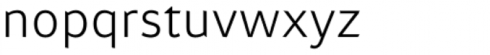 Attention Pro Light Font LOWERCASE