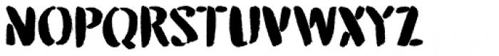 Attention Seeker Regular Font UPPERCASE