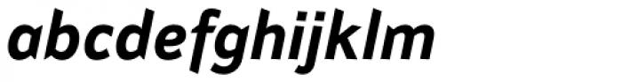 Attention Std Bold Italic Font LOWERCASE