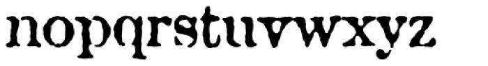 Attic Antique Font LOWERCASE