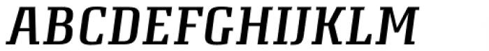 Attorney Medium Italic Font UPPERCASE