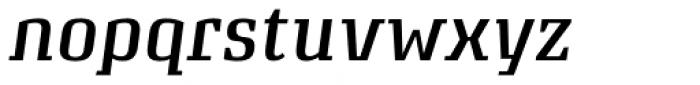 Attorney Medium Italic Font LOWERCASE