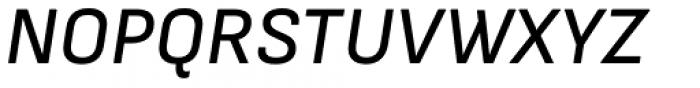 Attractive Medium Italic Font UPPERCASE