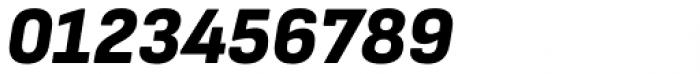 Attractive Semi Cond Black Italic Font OTHER CHARS