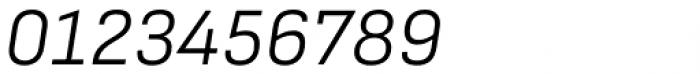 Attractive Semi Light Italic Font OTHER CHARS