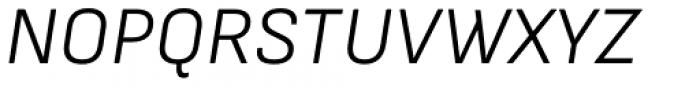 Attractive Semi Light Italic Font UPPERCASE