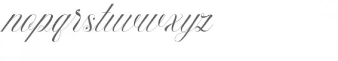Athena Font LOWERCASE