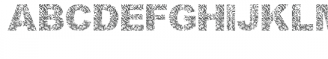 atribalize Font UPPERCASE