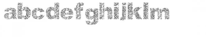 atribalize Font LOWERCASE