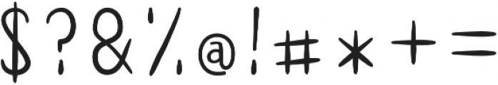 AUDREY SANS Regular otf (400) Font OTHER CHARS