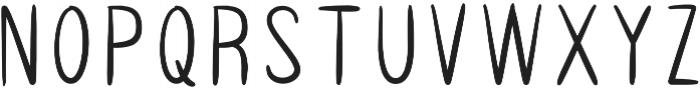 AUDREY SANS Regular otf (400) Font UPPERCASE