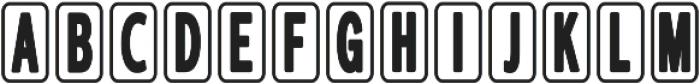 Aucall2 otf (400) Font UPPERCASE