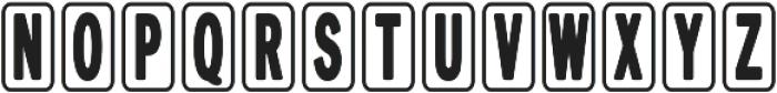 Aucall2 otf (400) Font LOWERCASE
