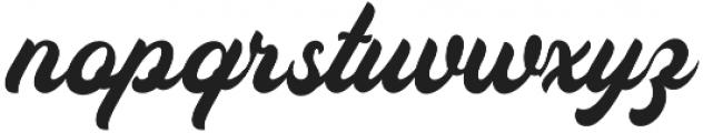 Auckland Script otf (400) Font LOWERCASE