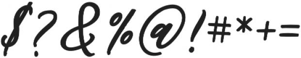 Audentcial bold script Regular otf (700) Font OTHER CHARS
