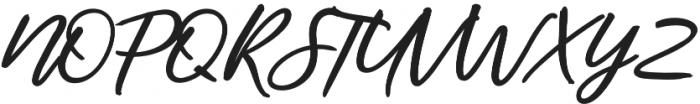 Audentcial bold script Regular otf (700) Font UPPERCASE
