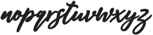 Audentcial bold script Regular otf (700) Font LOWERCASE