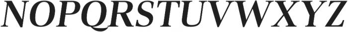Audrey H Bold-italic otf (700) Font UPPERCASE