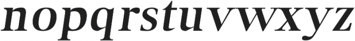 Audrey H Bold-italic otf (700) Font LOWERCASE